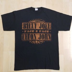 👕EUC 👕 - Billy Joel & Elton John Tshirt
